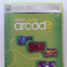 Videojuegos y Consolas: XBOX 360 LIVE ARCADE COMPILATION DISC. Lote 104078992