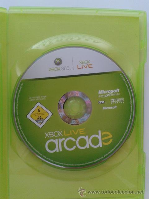 Videojuegos y Consolas: XBOX 360 LIVE ARCADE COMPILATION DISC - Foto 2 - 104078992