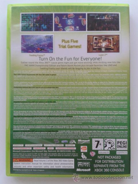 Videojuegos y Consolas: XBOX 360 LIVE ARCADE COMPILATION DISC - Foto 3 - 104078992