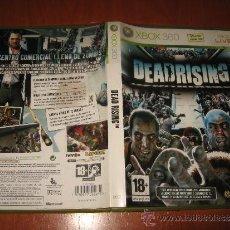 Videojuegos y Consolas: DEAD RISING PARA XBOX 360 PAL ESPAÑA COMPLETO / CAPCOM. Lote 33286740