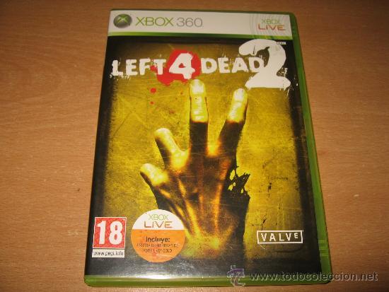 LEFT 4 DEAD 2 XBOX 360 PAL ESPAÑA 1ª EDICION / VALVE