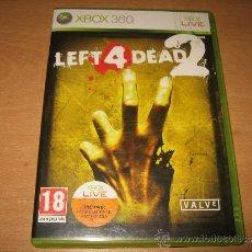 Videojuegos y Consolas: LEFT 4 DEAD 2 XBOX 360 PAL ESPAÑA 1ª EDICION / VALVE. Lote 33637260