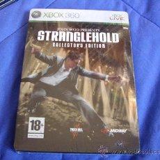 Videojuegos y Consolas: STRANGLEHOLD - EDICIÓN COLECCIONISTAS - PRECINTADO A ESTRENAR XBOX 360 - PAL ESPAÑA. Lote 35464947