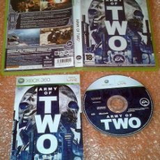 Videojuegos y Consolas: ARMY OF TWO XBOX 360 PAL ESPAÑA COMPLETO E.A. GAMES.. Lote 35830740
