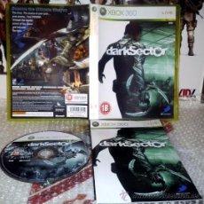 Videojuegos y Consolas: DARK SECTOR -XBOX 360 PAL UK COMPLETO. Lote 35905851