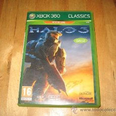 Videojuegos y Consolas: JUEGO XBOX 360 X360 HALO 3 SUBJETIVO ACCIÓN PRIMERA PERSONA BUNGIE HAVOK MICROSOFT GAME STUDIOS. Lote 35948103