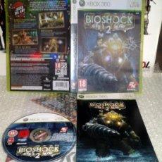 Videojuegos y Consolas: BIOSHOCK 2 XBOX360 MICROSOFT XBOX 360 PAL ESPAÑA COMO NUEVO COMPLETO 2K GAMES. Lote 35948290