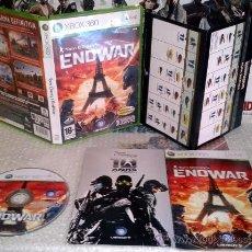 Videojuegos y Consolas: TOM CLANCY´S ENDWAR XBOX360 MICROSOFT XBOX 360 PAL ESPAÑA COMPLETO COMO NUEVO. Lote 35953161
