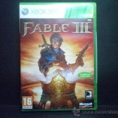 Videojuegos y Consolas: XBOX 360 FABLE III. Lote 36321154