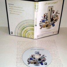 Videojuegos y Consolas: DVD PROMOCIONAL XBOX360 MICROSOFT XBOX 360 PAL ESPAÑA. Lote 36219264
