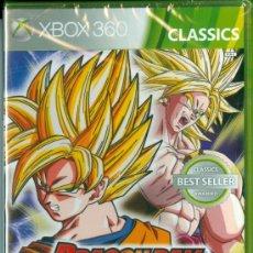 Videojuegos y Consolas: DRAGON BALL Z RAGING BLAST CLASSICS [XBOX 360] NUEVO Y PRECINTADO PAL UK (DISCO IDÉNTICO AL PAL ES). Lote 36224387