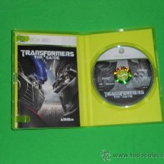 Videojuegos y Consolas: TRANSFORMERS THE GAME - XBOX 360 - PAL ESPAÑA. Lote 36426698