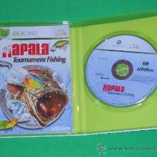 Videojuegos y Consolas: RAPALA TOURNAMENT FISHING - XBOX 360 - PAL ESPAÑA. Lote 36440895