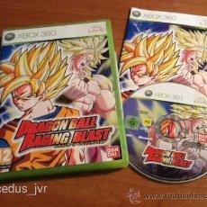 Videojuegos y Consolas: DRAGON BALL RAGING BLAST PARA XBOX 360 PAL ESPAÑA COMPLETO Y COMO NUEVO. Lote 37509896