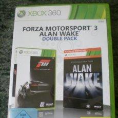 Videojuegos y Consolas: JUEGO FORZA MOTORSPORT 3 ALAN WAKE DOUBLE PACK. Lote 37284943