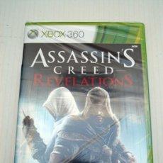Videojuegos y Consolas: ASSASSINS CREED REVELATIONS PARA MICROSOFT XBOX360 PAL ESPAÑA NUEVO Y PRECINTADO. Lote 37668437