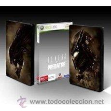 Videojuegos y Consolas: ALIENS VS PREDATOR - XBOX 360 - EDICION CAJA METALICA. Lote 37732348