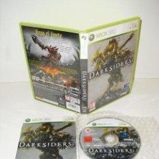 Videojuegos y Consolas: DARKSIDERS XBOX360 MICROSOFT XBOX 360 PAL ESPAÑA COMPLETO . Lote 35949208
