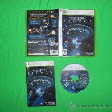 Videojuegos y Consolas: STAR TREK - LEGACY - BETHESDA SOFTWORKS - CON INSTRUCCIONES - XBOX 360. Lote 38547386