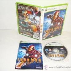 Videojuegos y Consolas: IRON MAN XBOX360 MICROSOFT XBOX 360 PAL ESPAÑA COMPLETO MARVEL. Lote 38848576
