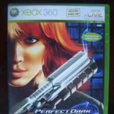 Videojuegos y Consolas: PERFECT DARK ZERO - XBOX 360 PAL ESPAÑA (4K). Lote 39051732