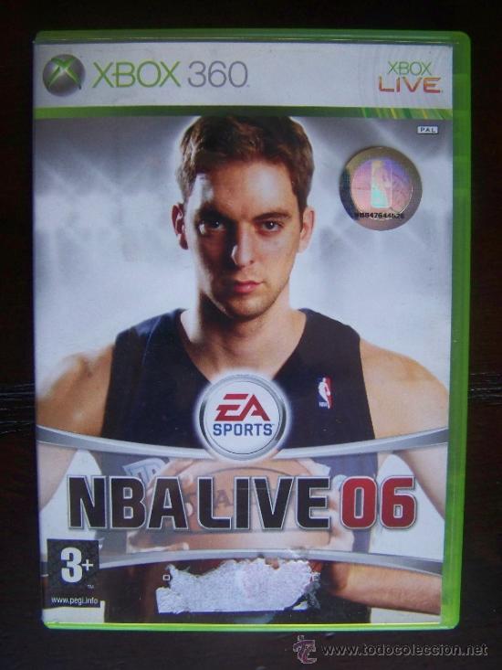 NBA LIVE 06 - XBOX 360 PAL ESPAÑA (4K) (Juguetes - Videojuegos y Consolas - Microsoft - Xbox 360)