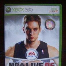 Videojuegos y Consolas: NBA LIVE 06 - XBOX 360 PAL ESPAÑA (4K). Lote 39051791