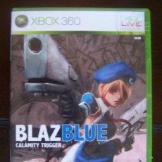 Videojuegos y Consolas: BLAZ BLUE CALAMITY TRIGGER - XBOX 360 PAL ESPAÑA - BLAZBLUE (4K). Lote 39052101