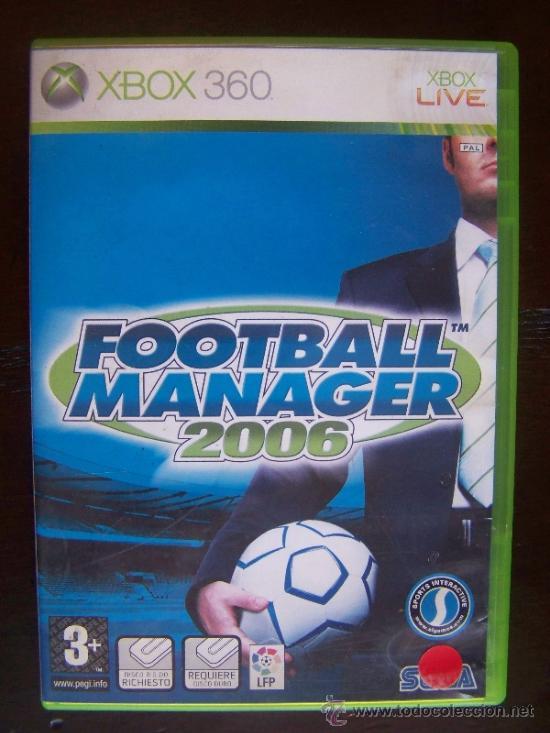 FOOTBALL MANAGER 2006 - XBOX 360 PAL ESPAÑA (4K) (Juguetes - Videojuegos y Consolas - Microsoft - Xbox 360)