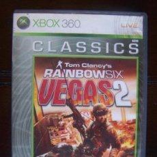 Videojuegos y Consolas: TOM CLANCY'S RAINBOW SIX VEGAS 2 - CLASSICS - XBOX 360 PAL ESPAÑA (4K). Lote 39075638