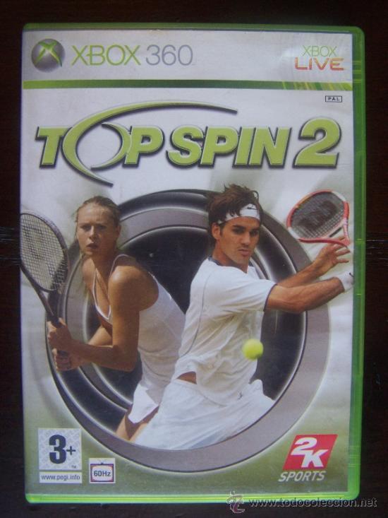 TOP SPIN 2 - XBOX 360 PAL ESPAÑA (4K) (Juguetes - Videojuegos y Consolas - Microsoft - Xbox 360)