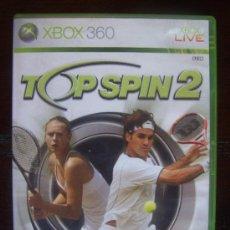 Videojuegos y Consolas: TOP SPIN 2 - XBOX 360 PAL ESPAÑA (4K). Lote 39076043