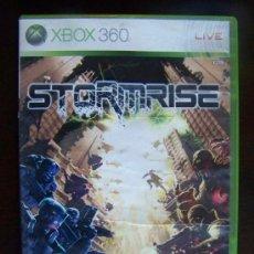 Videojuegos y Consolas: STORMRISE - XBOX 360 PAL ESPAÑA (4K). Lote 39309736
