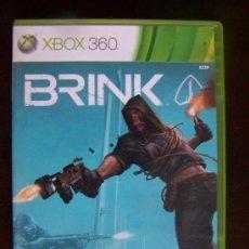 Videojuegos y Consolas: BRINK - XBOX 360 PAL ESPAÑA (4K). Lote 39310686