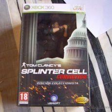 Videojuegos y Consolas: TOM CLANCY'S SPLINTER CELL CONVICTION - XBOX 360 - EDICIÓN COLECCIONISTA - PRECINTADA A ESTRENAR. Lote 39417745