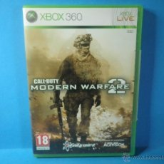Videojuegos y Consolas: XBOX 360 CALL OF DUTY MODERN WARFARE 2. Lote 39684821