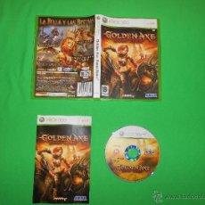 Videojuegos y Consolas: GOLDEN AXE BEAST RIDER - XBOX 360 - PAL - CON INSTRUCCIONES. Lote 39842233