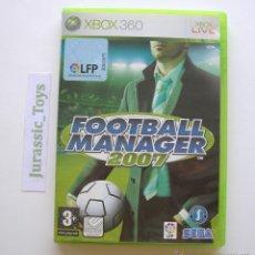 Videojuegos y Consolas: CONSOLA XBOX 360: JUEGO FOOTBALL MANAGER 2007 / COMO NUEVO - (PAL ESPAÑA) - FÚTBOL. Lote 40052625