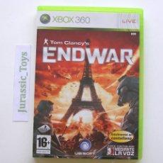 Videojuegos y Consolas: CONSOLA XBOX 360: JUEGO TOM CLANCY ENDWAR / COMO NUEVO - (PAL ESPAÑA). Lote 40052729