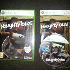 Videojuegos y Consolas: JUEGO XBOX 360 NAUGHTY BEAR. Lote 40550342