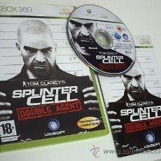 Videojuegos y Consolas: JUEGO XBOX 360 SPLINTER CELL DOUBLE AGENT. Lote 40550398