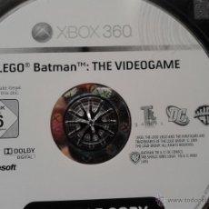 Videojuegos y Consolas: BATMAN LEGO EDUCATIVO ORIGINAL CONSOLA XBOX 360. Lote 40989773