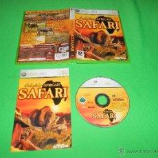 Videojuegos y Consolas: CABELA'S AFRICAN SAFARI - XBOX 360 - CON INSTRUCCIONES - PAL - CABELA - CABELAS. Lote 41095625