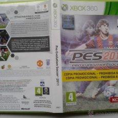 Videojuegos y Consolas: PRO EVOLUTION SOCCER PES 2011 ORIGINAL INSTRUCCIONES XBOX360. Lote 41199391