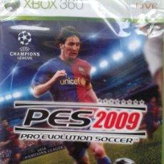 Videojuegos y Consolas: PRO EVOLUTION SOCCER PES 2009 CONSOLA XBOX 360 LIVE. Lote 40951674