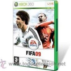 Videojuegos y Consolas: FIFA 2009 - XBOX 360 - GOLY. Lote 41402561