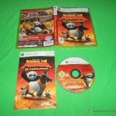 Videojuegos y Consolas: KUNG FU PANDA - EL VIDEOJUEGO - XBOX 360 - PAL - CON MANUAL DE INSTRUCCIONES - EN CASTELLANO. Lote 41528619