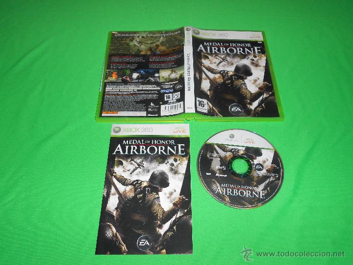 Medal of honor ( airborne ) xbox 360 pal comprar.