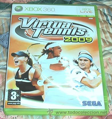 JUEGO XBOX 360. VIRTUA TENNIS 2009. (Juguetes - Videojuegos y Consolas - Microsoft - Xbox 360)