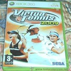 Videojuegos y Consolas: JUEGO XBOX 360. VIRTUA TENNIS 2009. . Lote 41664833